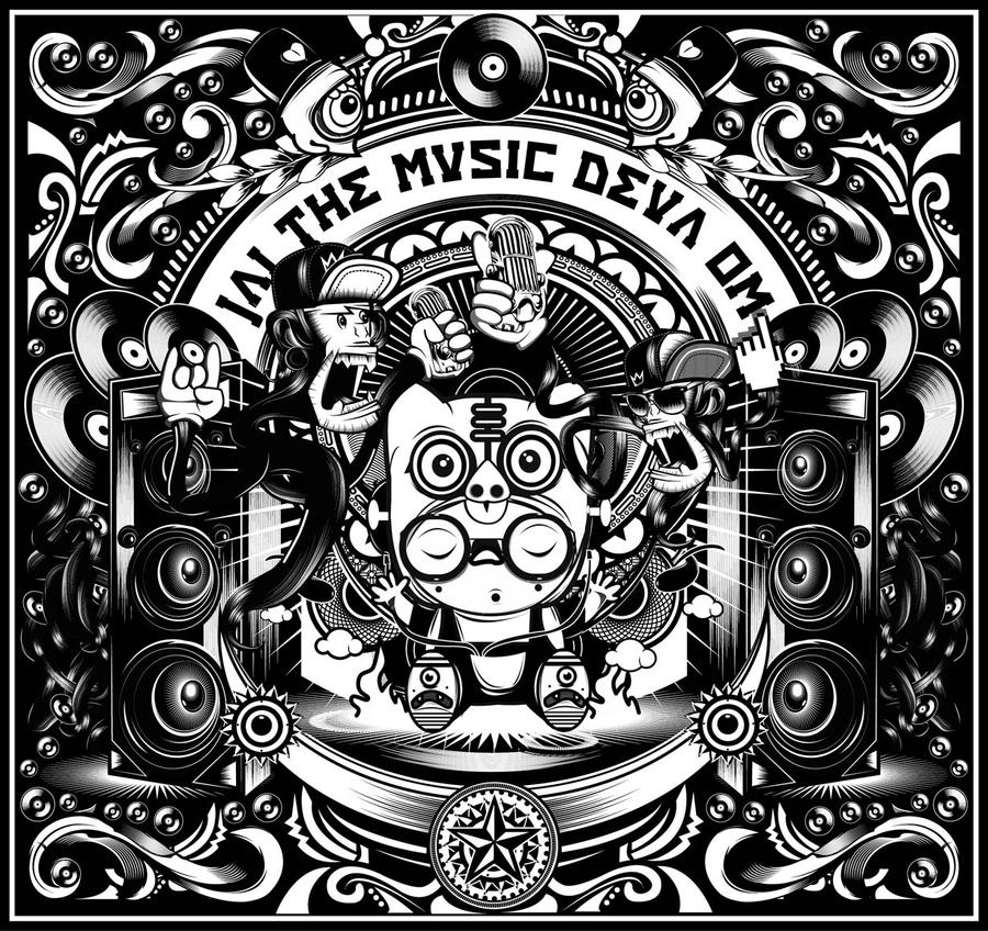 Jai The Music Deva Om by muloyoung85
