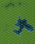 BattleTech Map - Lake and Woodlands