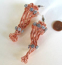 Cornucopia earrings by gufobardo