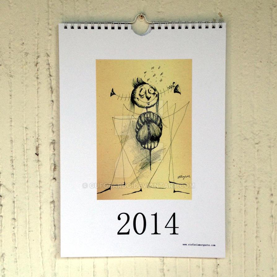 2014 printable art calendar wall decor pdf file by for Art decoration pdf