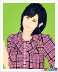 Okai Chisato - vector artwork