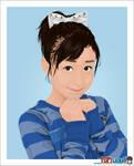 Mai Hagiwara - vector artwork