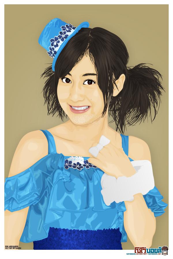 Mai Hagiwara - vector artwork2