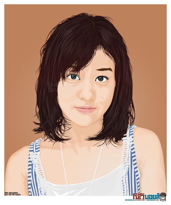 Mai Hagiwara - vector artwork3