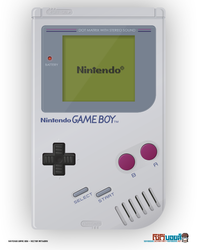 Game Boy - Vector Artwork