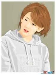 Okai Chisato - Vector artwork 3