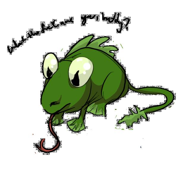 Hello, Mr...frog-lizard-rodent guy by arashkya