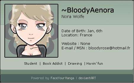 BloodyAenora's Profile Picture