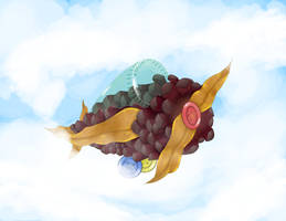 Pine Cone Airplane Updated!