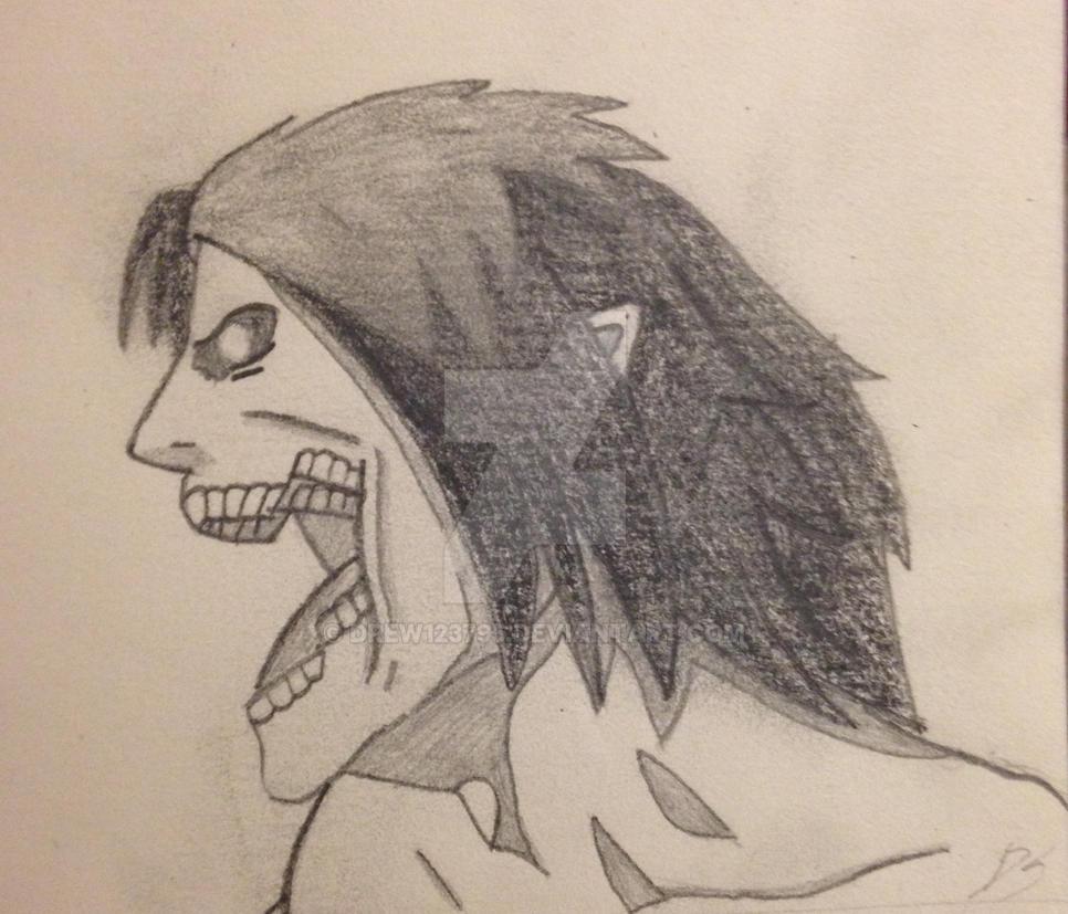 Eren Jeager (Titan form) by drew123795