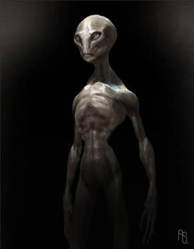 Harvey The Alien