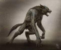 Werewolf Concept by aaronsimscompany