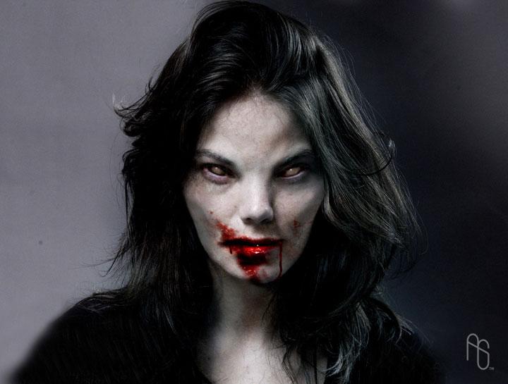 Female Vampire 1 by aaronsimscompany