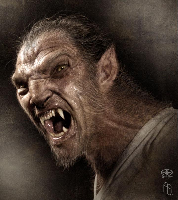 Skinwalker Werewolf Werewolf 2 by aaronsimscompany