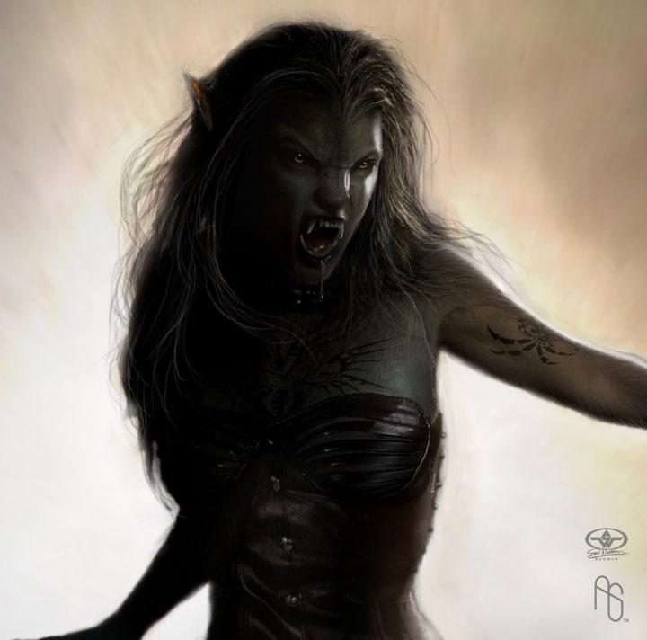 Werewolf 4 detail