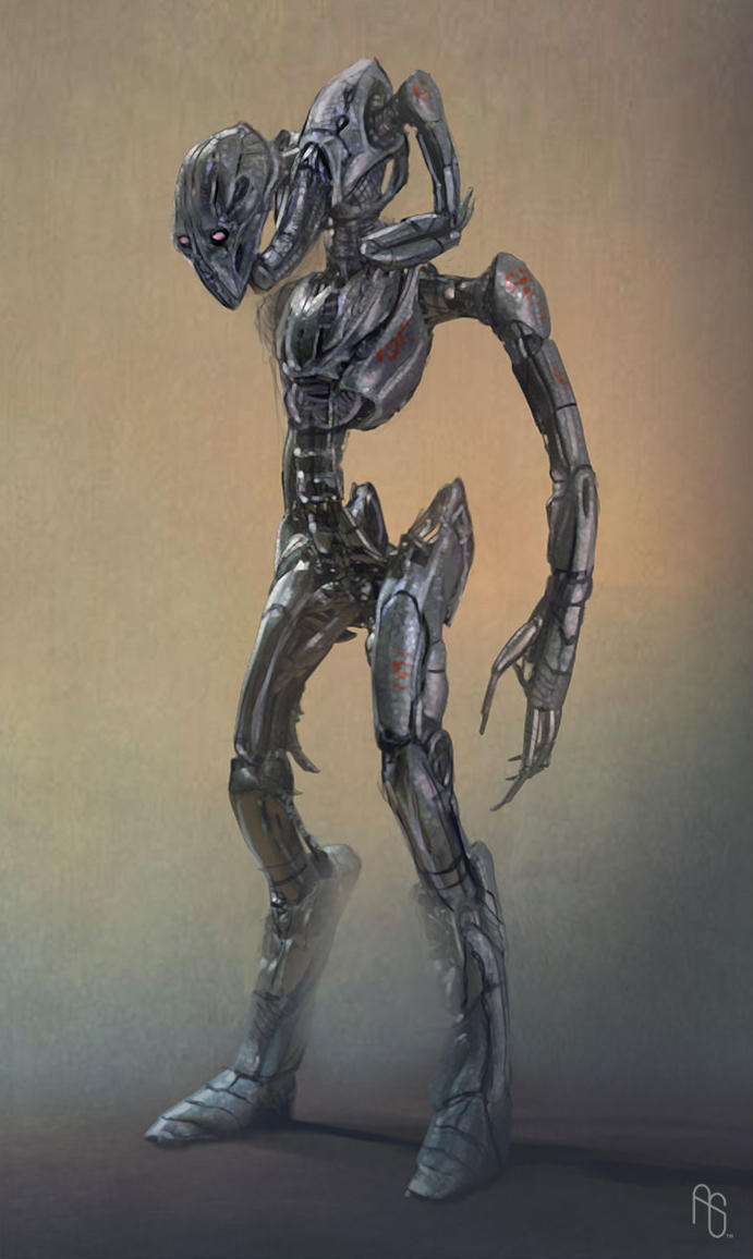Robot Concept 3 by aaronsimscompany