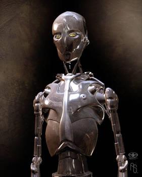 Robot Concept 1 AI