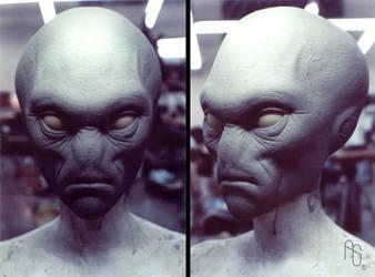 Alien Concept 1, Men In Black by aaronsimscompany
