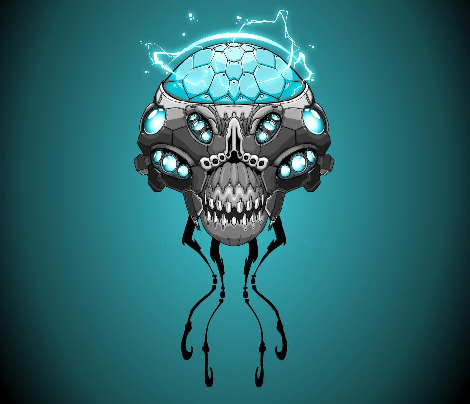 Elektro-head by denOrelli
