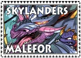 Skylanders Malefor Stamp by jjman65