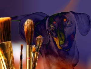 Dacshund Art