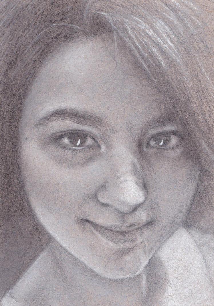 Self portrait by nanazsuzsi