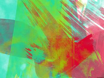Watercolor wall by pzero42