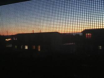Sunset in my homeland