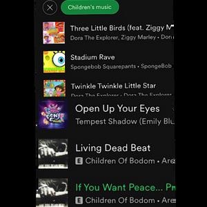 Cursed Spotify Stuff