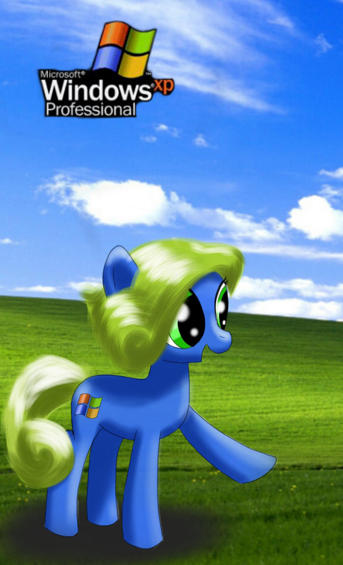 Mlp Windows Xp Pony Phone Wallpaper By Damagek On