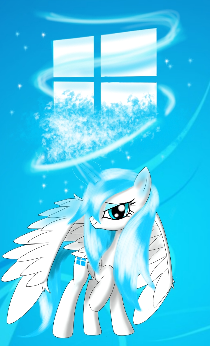 Mlp Windows 8 Pony Phone Wallpaper By Damagek On