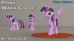 [SFM Ponies / DL] Pony Walk Cycle DMX (Final)