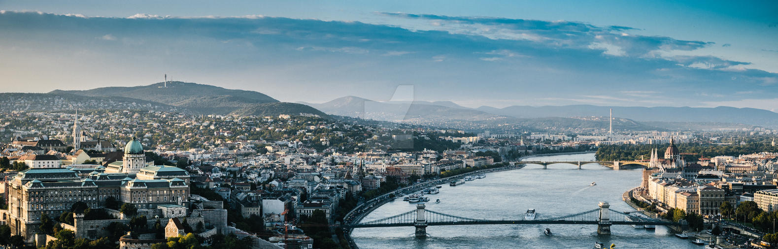 Budapest panorama by airsteve