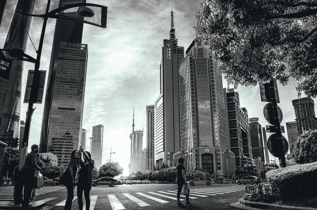 Shanghai moments by airsteve