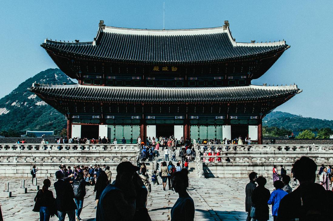 Gyeongbokgung Palace Seoul by airsteve