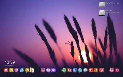 My Desktop Windows 7 by oidoperfecto