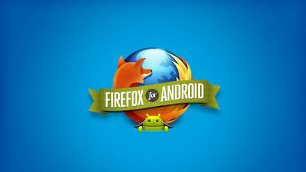 FireFox for Android Wallpaper by oidoperfecto