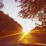 The Sunset Road by oidoperfecto