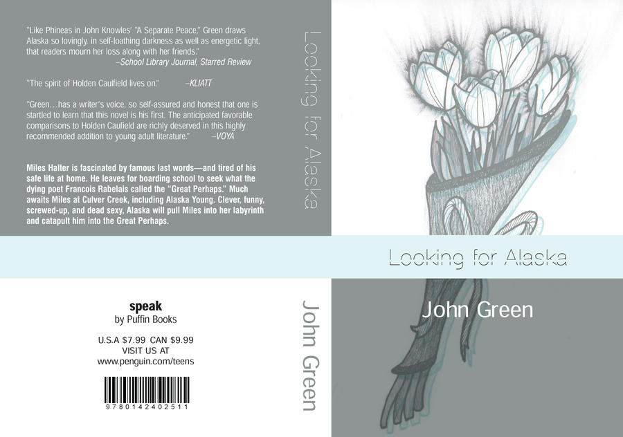 Drawing Looking For Alaska Alaska: Looking For Alaska Bookcover By Lunitaire On DeviantArt