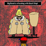 Ness goes to Giant Step