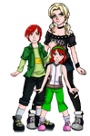 The Campion Siblings by TheDigitalDoll