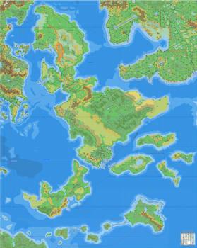A Sea of Dawn Islands