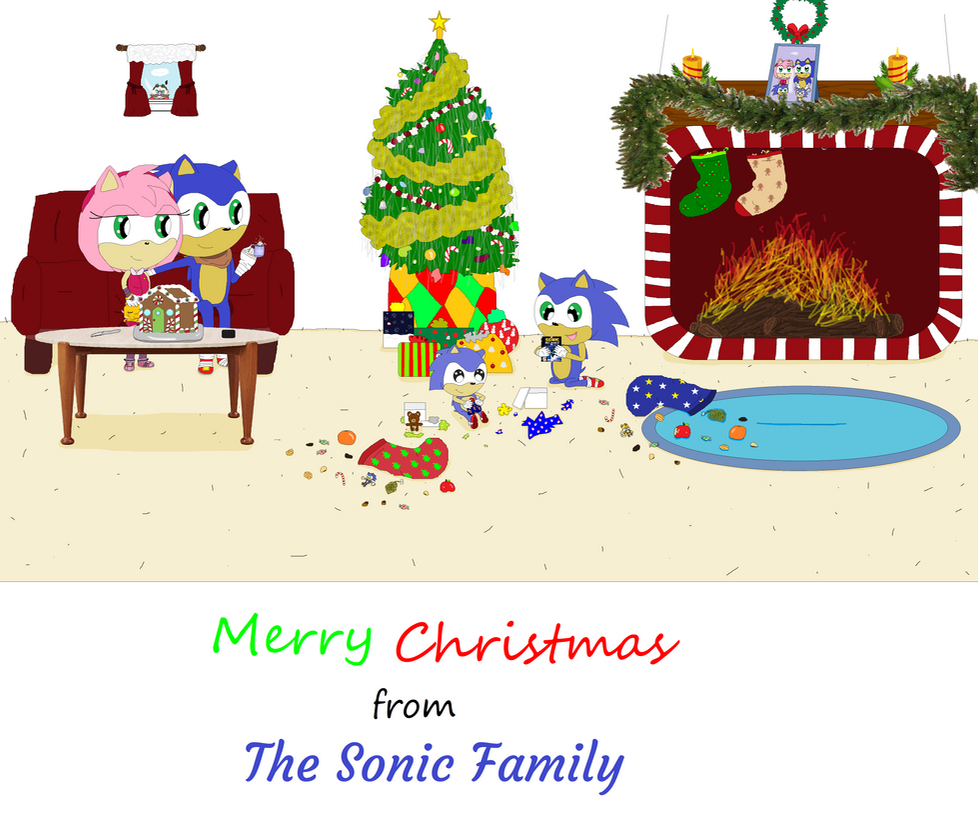 merry christmas from the sonic family by pumpkin pie13 - Sonic Hours Christmas Day