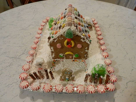 2018 Gingerbread House