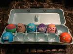 Cartoon Character Easter Eggs by Pumpkin-Pie13