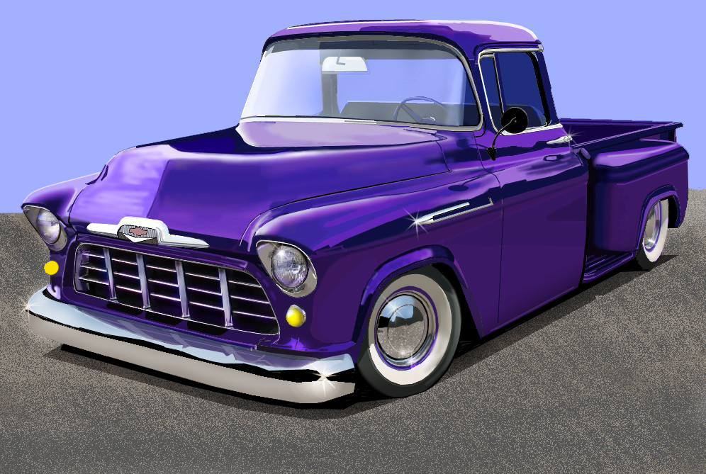 50's Chevrolet truck W.I.P. by JoWulf on DeviantArt