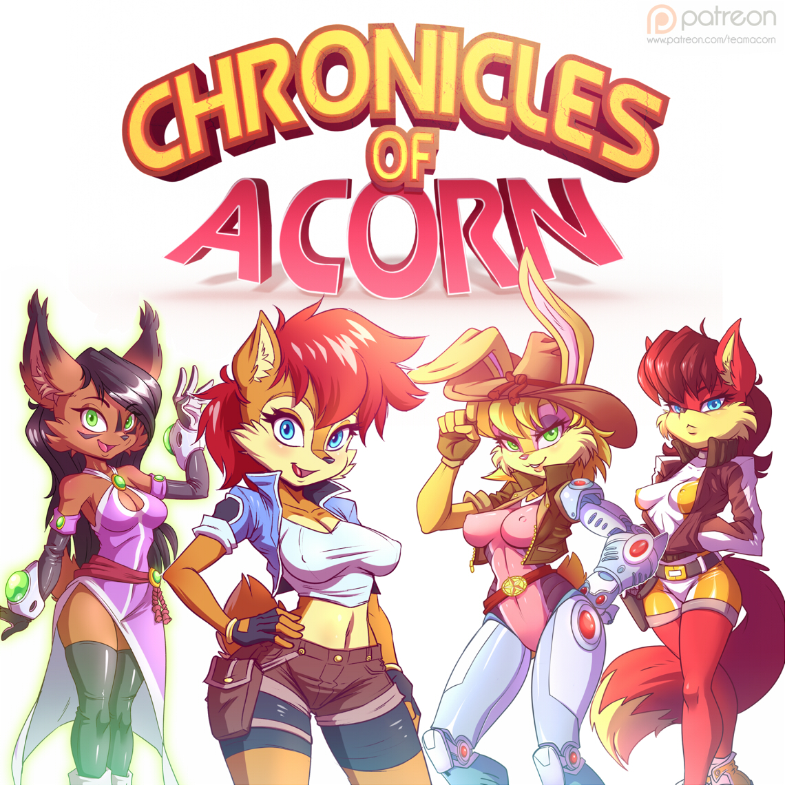 Sonic sally acorn hentai