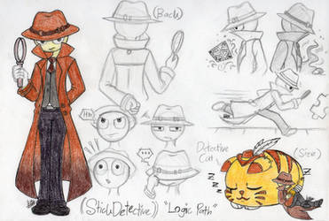 Identity V - Stick Detective (Logic Path/NPC) by farahin001