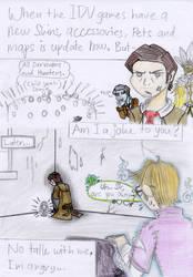 IdentityV: Orpheus is mad (Comic meme)