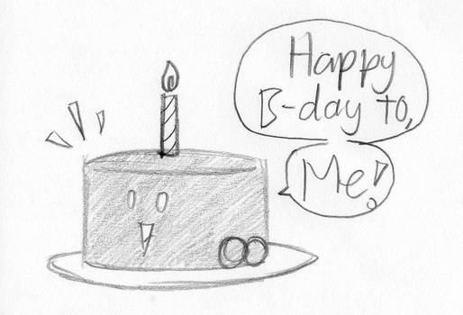 Happy B-Day to, me! (C.Cake OC)